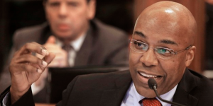 Kwame Raoul, State Senator for the 13th Legislative District and candidate for Attorney General.